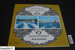 Bulgarien     1973   Block 39 ** Postfrisch   Ohne Heftklammerlochung  / Flog - Touristik - Bulgarie