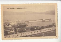 DE309:PORTOFERRAIO 1915/1916 Cartolina VEDUTA GOLFO Con COSTRUZIONI, MOLI E PORTO - Italia