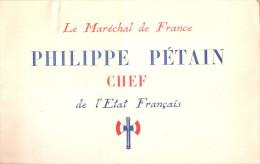 LE MARECHAL DE FRANCE PHILIPPE PETAIN CHEF ETAT FRANCAIS VICHY PROPAGANDE