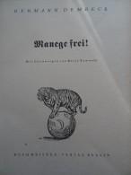 Manege Frei Hermann Dembeck Zirkus Krone Circus Cirque - Livres, BD, Revues