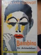 Cirkus Bambino Ein Artistenleben William Quindt Roman Noivel Cirque Zirkus - Livres, BD, Revues