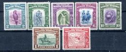 North Borneo 1939 MLH*VF Part Set To 10c See Scan Buffalo Cockatoo Monkey Orangutan   Fauna Map Sailing Boat - North Borneo (...-1963)