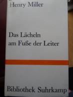 Henry Miller Lächeln Am Fusse Der Leiter Roman Novel - Livres, BD, Revues