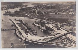 GÖTEBORG - Frihammen Fran Flygplan 1936 - Harbour - Zweden