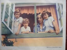 Chromo Belgique Belgie Famille Royale L'aiglon Roi Reine Belgie Belgium - Livres, BD, Revues