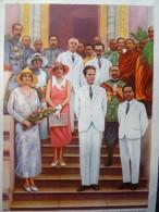 Chromo Belgique Belgie Famille Royale L´aiglon Roi Reine Belgie Belgium - Livres, BD, Revues