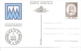 67558)intero Postale Da 300£ Centennario Interi Postali Nuovo - America Centrale