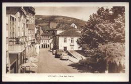 VINHAIS / BRAGANÇA / PORTUGAL Postal Fotografico Da Rua Das Freiras. Real Old Photo Postcard - Bragança