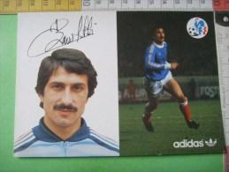 33  ) Football :  Baronchelli Bruno   : 3 F - Calcio