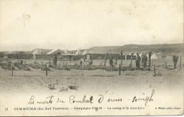 Oum-Souigh (ex Sud Tunisien) - Campagne 1915-1916 - Le Camp Et Le Cimetière - Tunesien