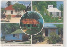 CPM GF - Iles Cayman - Multivues  - Multivues Maisons Locales - Postales