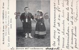 (33) Bordeaux - Paulus & Thérésa La Plus Petite Famille De France Nés à Bordeaux - Freaks Dwarfs Nains - Bordeaux