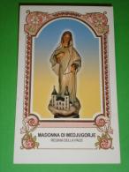 Madonna Santuario Di MEDJUGORJE - Santino Gruppo Di Preghiera - Regina Della Pace - Chiesa Torre Del Moro CESENA - Santini