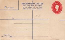 FIJI 189? - 8+2 C Ganzsache Auf Registered Letter ** - Fidschi-Inseln (...-1970)