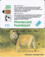 South Africa - Chip - SAF-01 - R10 - For Marketing Use Only - RR - Afrique Du Sud