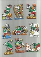 DISNEY: Lotto Di 9 Figurine MIO PIPPO OLIMPIONICO - Disney