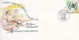 Australia 1988 200 Club Wesley Cover Service, Souvenir Cover No.03 - 1980-89 Elizabeth II