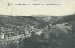 Dinant - Panorama Sur La Route De Philippeville - 1912  ( Voir Verso ) - Dinant