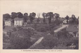 CPA 95 CORMEILLES EN PARISIS La Route De La Frette - Cormeilles En Parisis