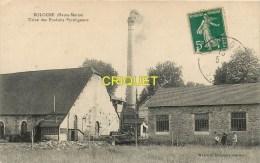 Cpa 52 Bologne, Usine Des Produits Pyroligneux, Groupe D'ouvriers...., Carte Peu Courante Affranchie 1912 - Other Municipalities