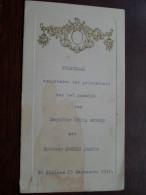 Huwelijk Netta GEBOES Met Joseph JACOBS St. Niklaas 23 Sep 1941 ** MENU ** ( Gehandtekend - Details Zie Foto ) ! - Menus