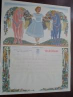 Brugge Denys - Deboo ( Huwelijkstelegram / Zie Foto's Voor Detail ) ! - Stamped Stationery