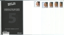 2004 Pack Opened Wedding Of Frederik & Mary 4 Of The 5 Envelopes Remain In The Pack Value Here - Postal Stationery