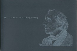 2005 H.C. Andersen Prestige Stamp Booklet Contains All Stamps & Special Information On The Author - Booklets