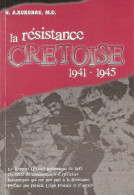 RESISTANCE CRETOISE GUERRE MEDITERRANEE 1941 1945 CRETE RAPPORT OFFICIER BRITANNIQUE