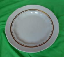 Vintage Latvia Riga USSR Soviet Porcelain Factory RPR Plate - Signed
