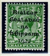 1922 - IRLANDA - EIRE - IRELAND - Mi. 1 - Mint Stamps - (PG10062014...) - Nuevos