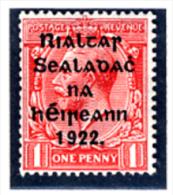 1922 - IRLANDA - EIRE - IRELAND - Mi. 13 II -  MLH - (PG10062014...) - 1922 Governo Provvisorio