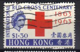 W883 - HONG KONG 1962 , Elisabetta  Yvert N. 211  Usato - Usati