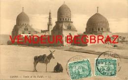 LE CAIRE     TOMBEAU DU CALIF     TIMBRES CACHET    ANE - Cairo