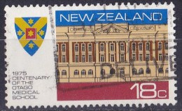 New Zealand 1975 Anniversaries & Events 18c Otago Medical School Used - New Zealand