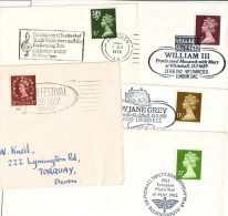 Elizabeth II  Lot 5 Definite Covers With Special Cancel - 1952-.... (Elisabetta II)