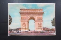 Carte Plastique En Relief Difac - Arc De Triomphe