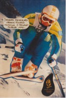JEUX  OLYMPIQUES D'ALBERTVILLE 1992 :  FRANCK PICCARD MEDAILLE D'ARGENT En DESCENTE - Jeux Olympiques