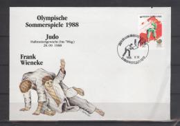 COREE DU SUD    FDC   JO 1988   Judo - Judo
