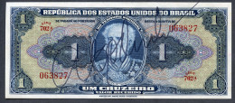 Brésil P 132  1 Cruzeiros 1944  *** UNC  *** Série 702 N° 063827 - Brasil