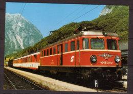 ÖBB , Elektrische Personenzuglokomotive 1046 021-0 Am 22 VI 12990 In Steinach - Irding - Eisenbahnen