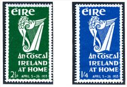 1953 - IRLANDA - EIRE - IRELAND - Mi. 116/117 -  MNH - (PG10062014...) - 1949-... Repubblica D'Irlanda