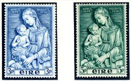 1954 - IRLANDA - EIRE - IRELAND - Mi. 120/121 -  MLH - (PG10062014...) - 1949-... Repubblica D'Irlanda