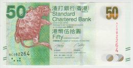 Hong Kong 50 Dollars 2010 Pick 298 UNC - Hong Kong