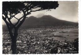 324/500 - NAPOLI  Viaggiata . Francobollo Asportato - Napoli