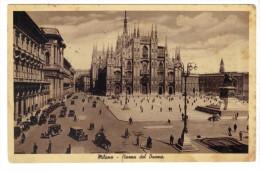 331/500 - MILANO  Viaggiata 17/9/1937 . DUOMO - Milano