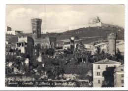 334/500 - GENOVA  Viaggiata 20/10/1952 . RIGHI - Genova