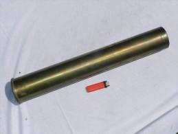 DOUILLE OBUS CANON 76 mm  CANADA  dat�e 1944 - neutralis�e #.9