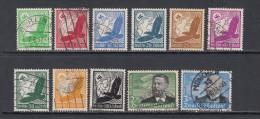 1934  MICHEL  Nº 529 / 539 - Posta Aerea