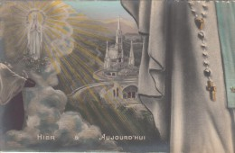 65 - LOURDES - La Basilique  - Carte Pulze Ancienne - Lourdes